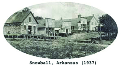 Buildings in Snowball Arkansas